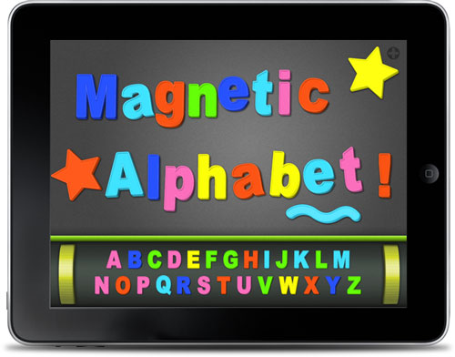 Magnetic Alphabet per iPad