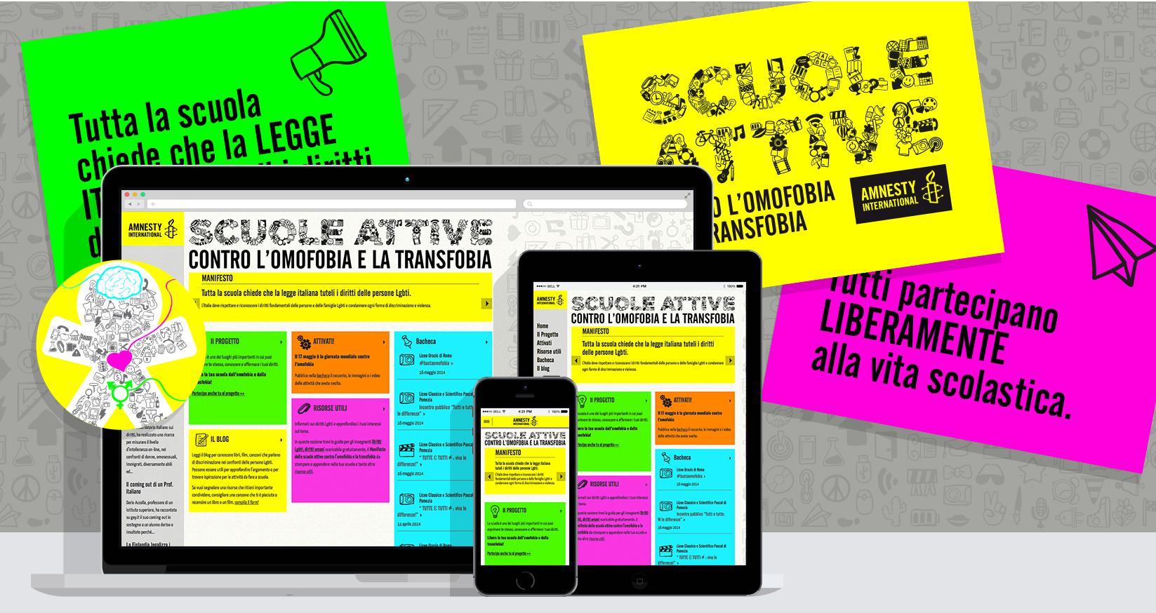 Amnesty Scuole Attive - Cover