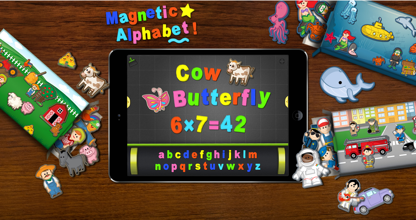 ​ ABC Magnetic Alphabet - Cover