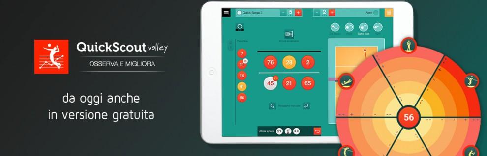 Prova quick scout volley, l'app per gli allenatori di pallavolo, gratis
