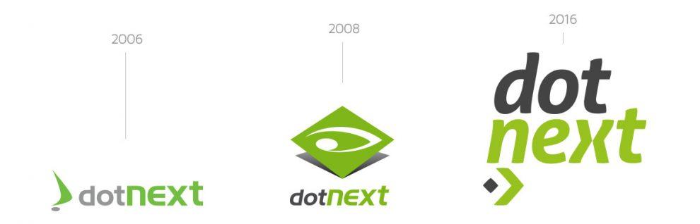 L'evoluzione del Logo di Dot Next