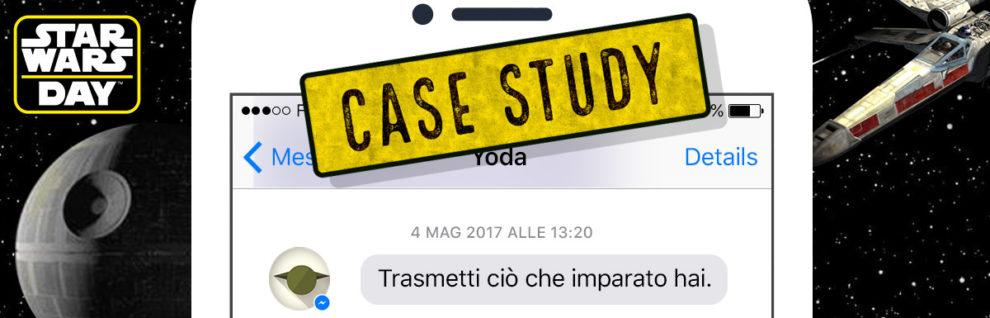 Il Case Study del nostro Chatbot di Star Wars - Parla con Yoda