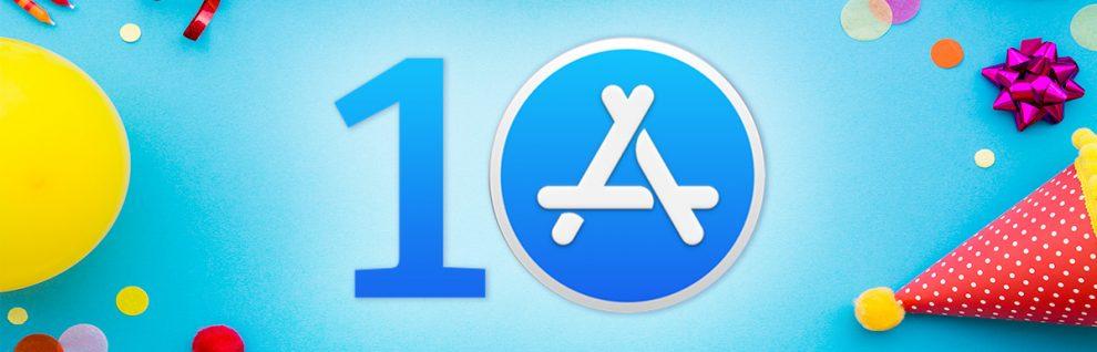 10 anni di App Store e di App Design