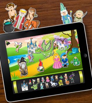 """Un esempio di App Design circa 2010: App """"ABC Magnetic Alphabet"""""""